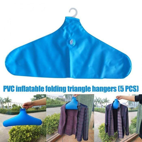 HangIt™️ Inflatable Clothes Hanger (5 Pack)