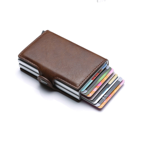StrongHold™ Double Capacity RFID Blocking Anti Theft Pop-Up Wallet