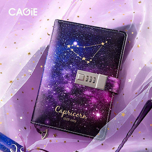 VintageArt™ Ultimate Constellations Glass Pen Journal Gift Set