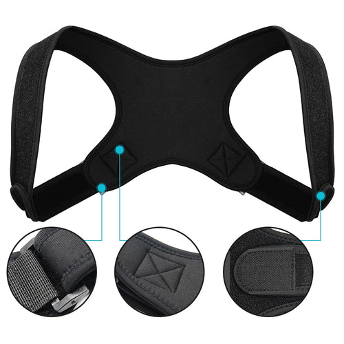 FlexPosture™ Adjustable Back Posture Corrector