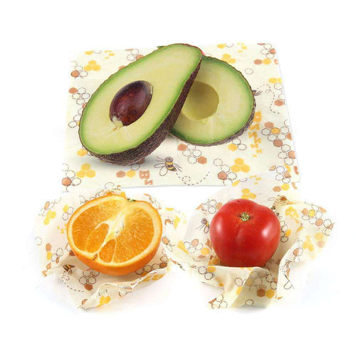 ZeroWaste™ Reusable Beeswax Food Wraps [3 Pack]
