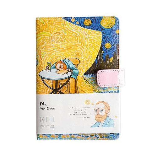 VanGogh Soft Cover Journal Notebook A5 Size 104 pages