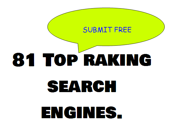 why not try website submission on 81 top ranking search engines on our website.