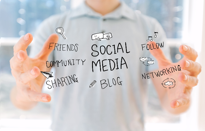 Join the social media networks to link to your community, groups, family and friends.