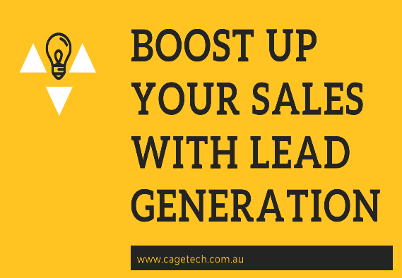 How to attract more customers to your web content with lead generations and turn them to sale.