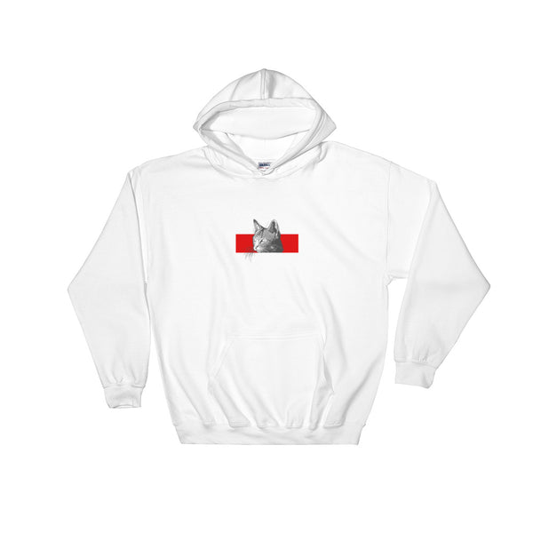 Cat Red Stripe | Unisex Hoodie