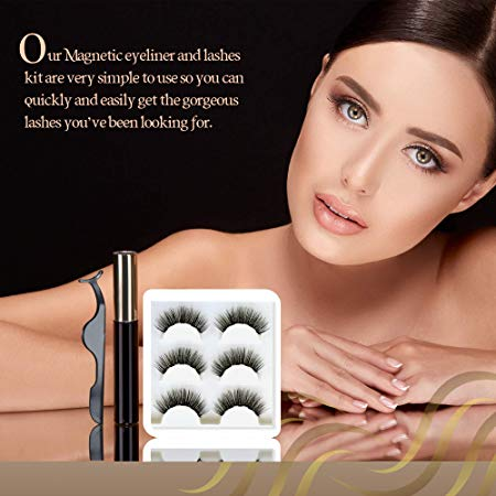 Short & Natural Magnetic Eyeliner & Lash Kit