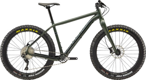 2019 Cannondale Fat CAAD 2 Green