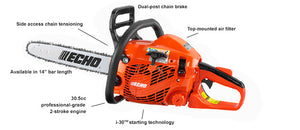 Echo Rear Handle Chainsaw CS-310 16""