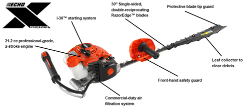 Echo Sigle Sided Hedge Trimmer HCS-3020