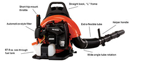 Echo Back Pack Leaf Blower PB-755SH