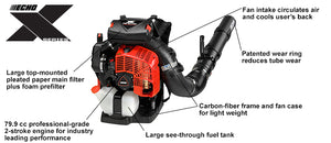 Echo Backpack Leaf Blower PB-8010H