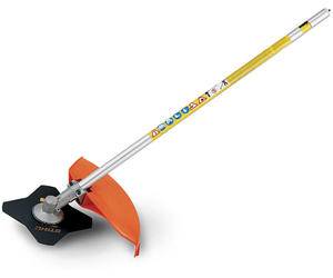 Stihl FS-KM Brushcutter with 4 Tooth Grass Blade