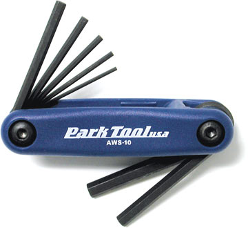 Park Tool AWS-10 Hex Wrench Set
