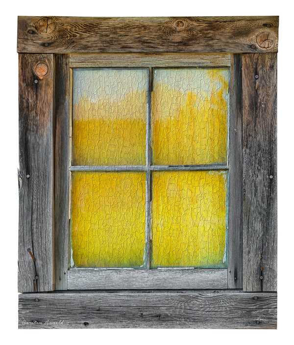 The Old Barn Window