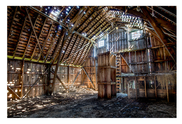 Old Barn Hayloft - Ray Carman Barn