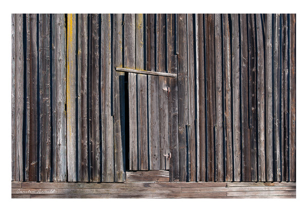 Old Barn Hayloft Door