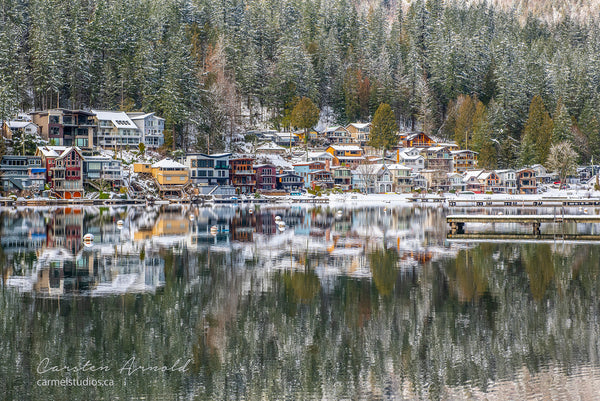 Cultus Lake Winter Reflection