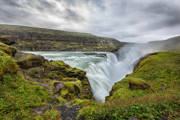 Gulfoss Iceland Waterfall