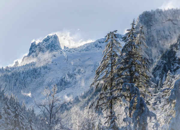 Mt. Slesse in Winter