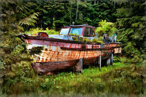 Final Resting Place Salmon Fishing Boat 'Twin Falls'
