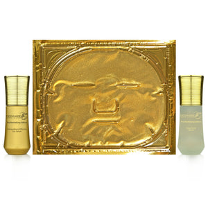 12 in 1 Gold Mask with Eye Serum & Facial Peeling