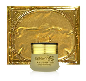Facial Gold Mask With Facial Peeling