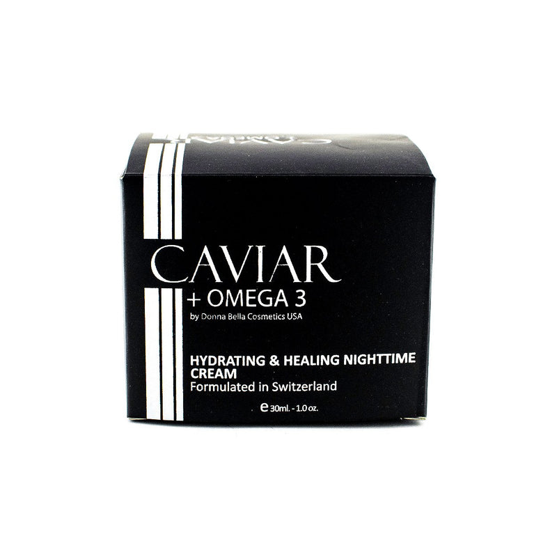 Nighttime Healing | DMAE | Collagen | Marine Collagen | Moisturizing | Caviar | Skin care | Cosmetics | Luxury Skincare | Hydro-Boost | Fast Absorbing | Healing | Deep Cleaning