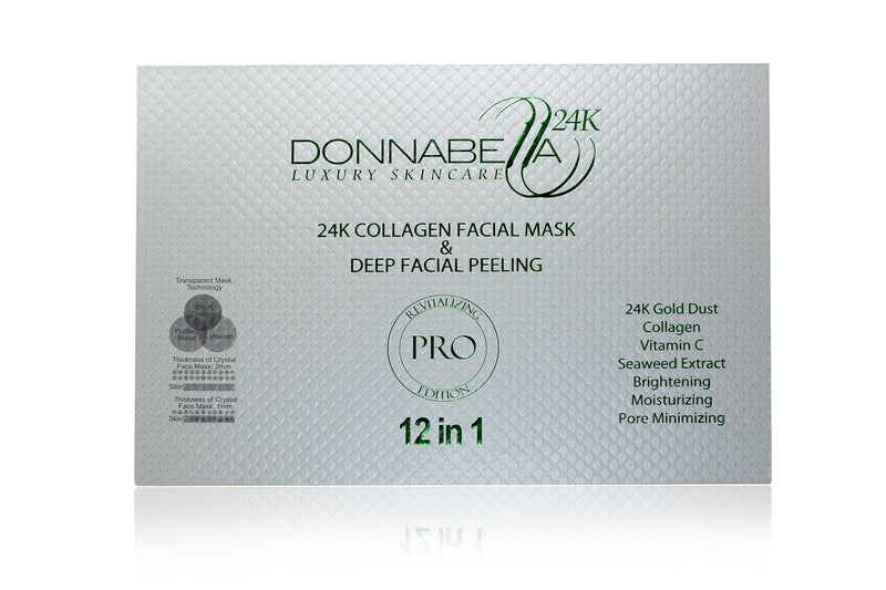 Pro edition 24k Gold Collagen Mask & Facial Peeling