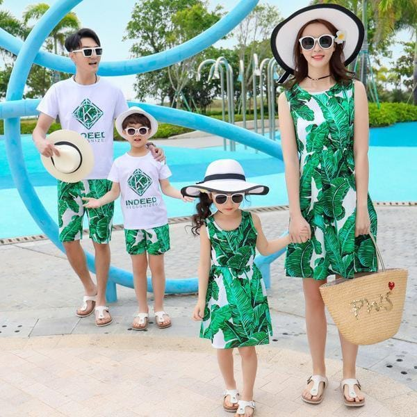 Summer Parent-child Suit - looshore