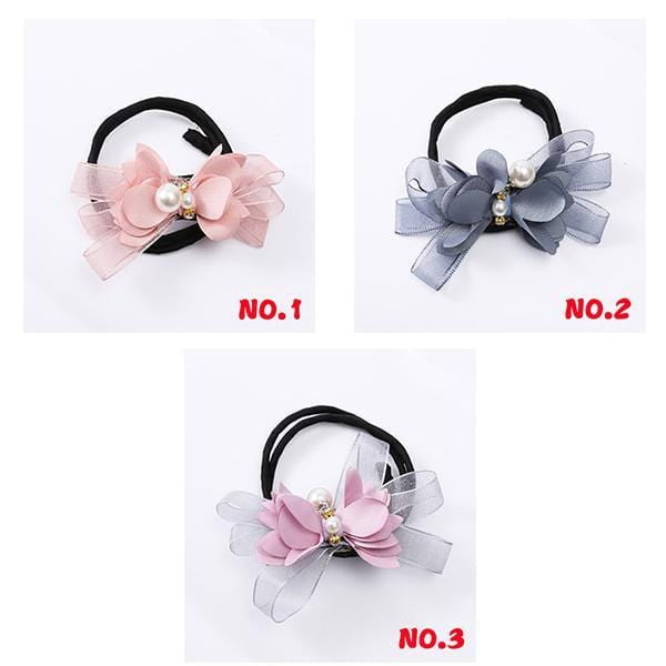 Flower Tiara Hair Tying Tool - looshore