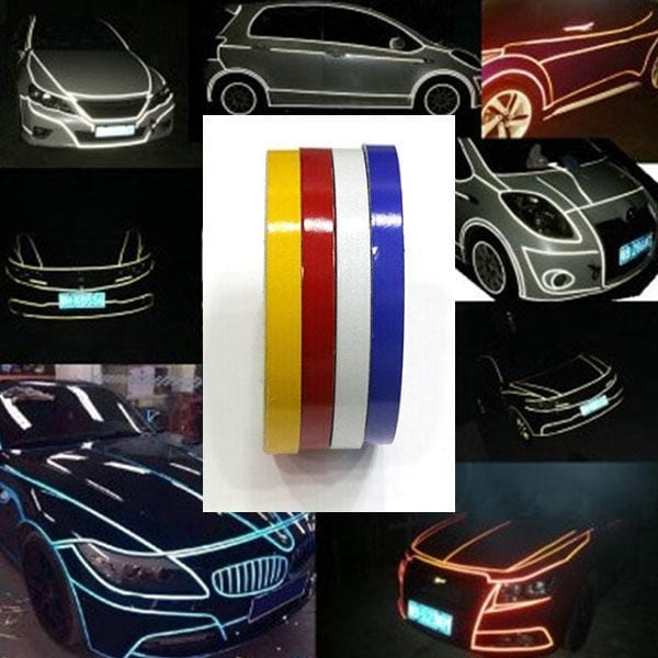 Retrofitting Reflective Strips For Cars - looshore