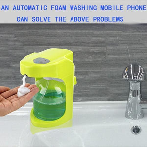 Automatic Induction Washing Mobile Phone - looshore