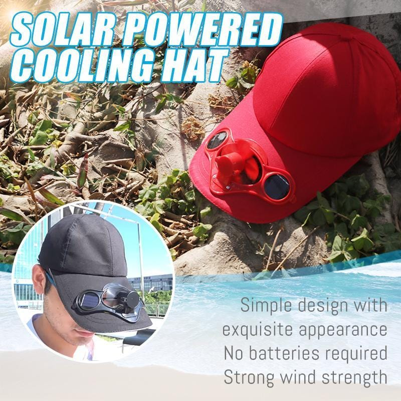 SOLAR POWERED COOLING HAT - looshore