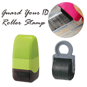 Guard Your ID Roller Stamp - looshore