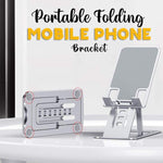 (New Year Promotion-50%OFF)Portable Folding Mobile Phone Bracket