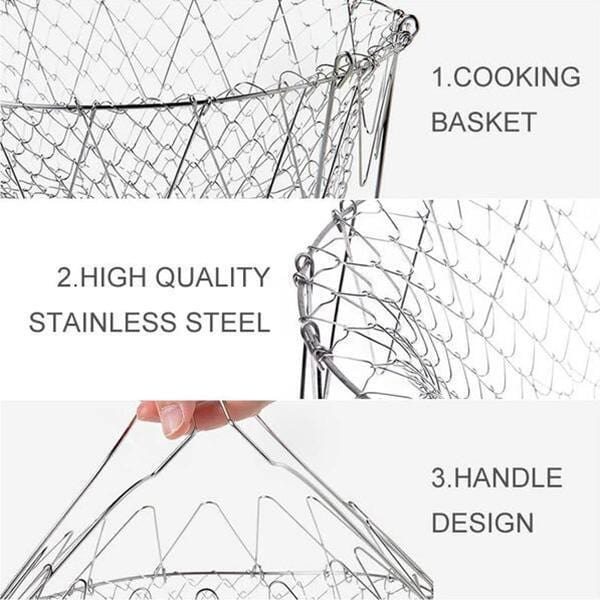 Multi-Function Folding Basket - looshore