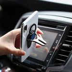 2-in-1 Mobile Phone Ring Holder Car Bracket - looshore