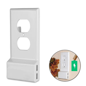 Power Outlet Cover With USB Ports - looshore