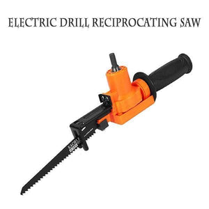 6-Piece Electric Drill Reciprocating Saw Set - looshore