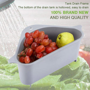 Triangle Storage Holder Multifunctional Drain Shelf - looshore