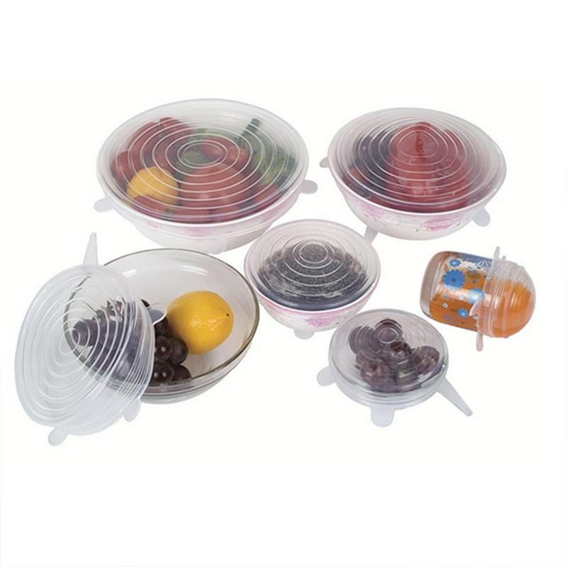 Stretch Lid Food Cover (6PCS) - looshore
