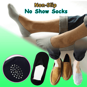 Anti-slip Silicone No Show Socks (5PCS) - looshore
