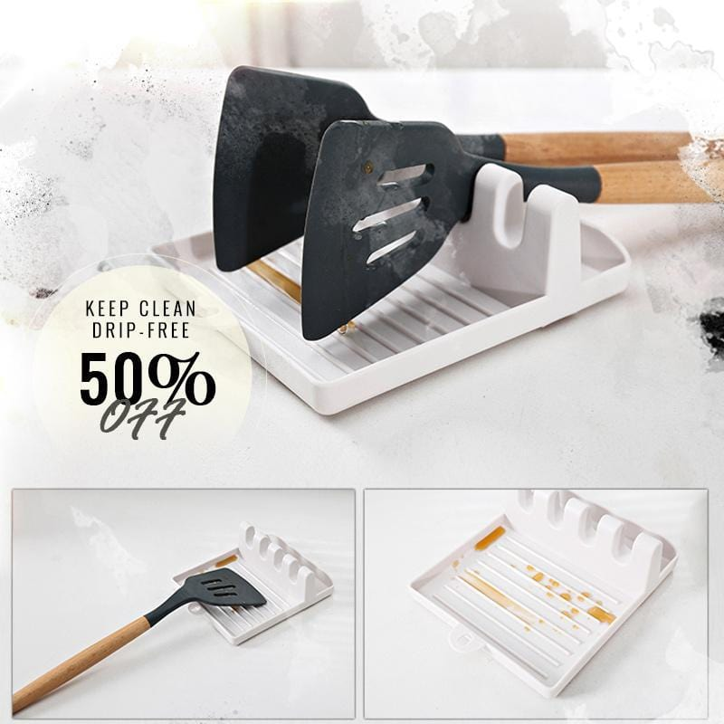 Multifunction Kitchen Spatula Rack
