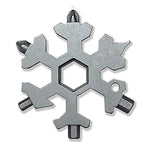 15-in-1 Stainless Snowflake Multi-Tool - looshore
