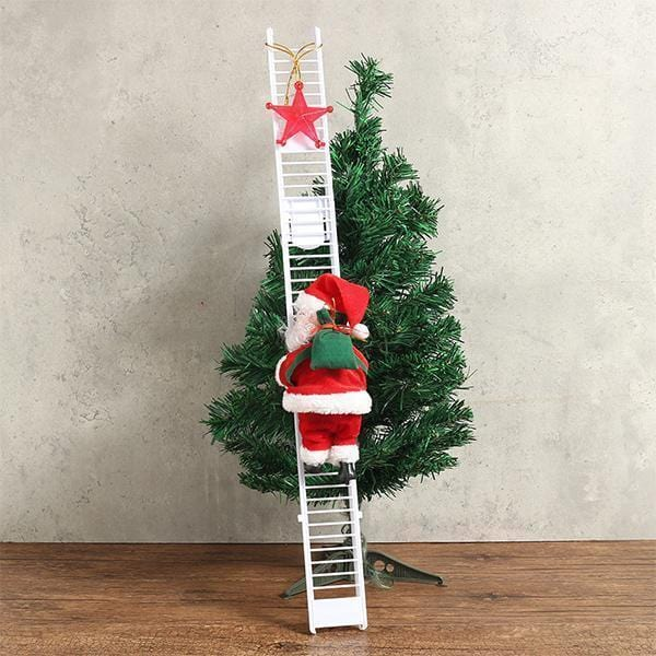 The climbing Santa Claus - looshore