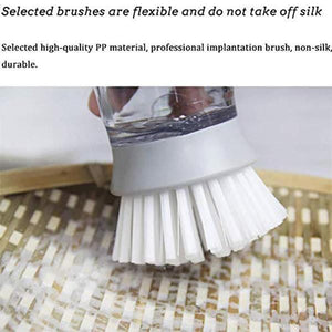 Press-type Dishwashing Brush - looshore