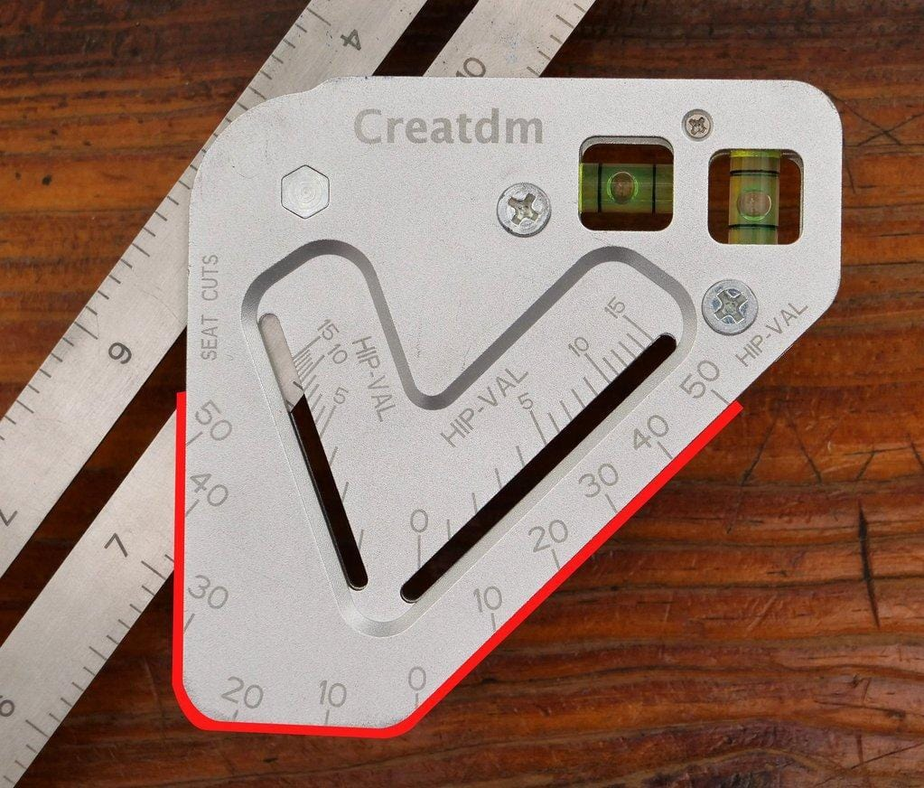 MULTI-TOOL RULER-CREATDM - looshore