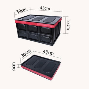 Multi-function Collapsible Car Trunk Organizer And Storage Box - looshore