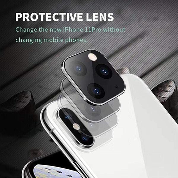 Camera Lens Protector For iPhone X Convert To iPhone 11 Pro - looshore